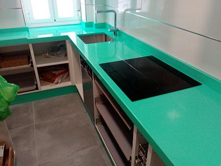 Encimeras de cocina en Albacete | Mármoles Manolo Simón